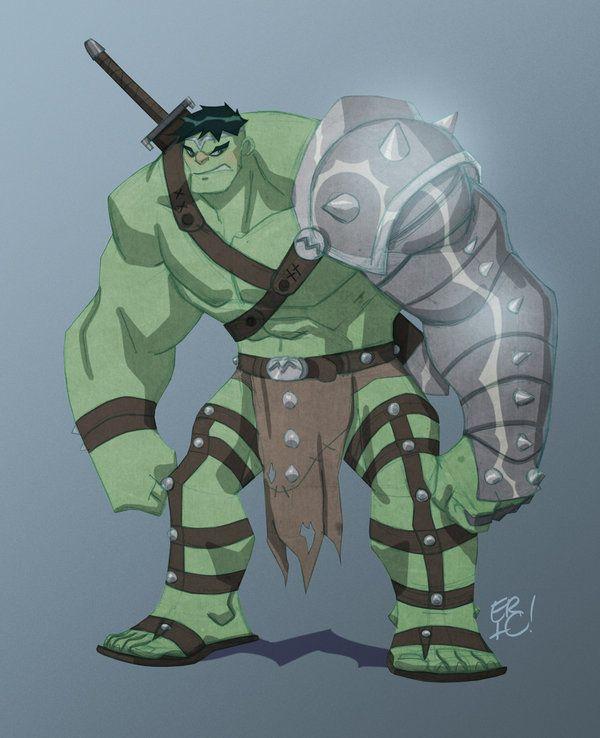 World War Hulk by EricGuzman on deviantART