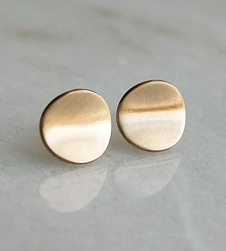 Arcsis Curved Stud Earrings by Cindy Liebel on Scoutmob
