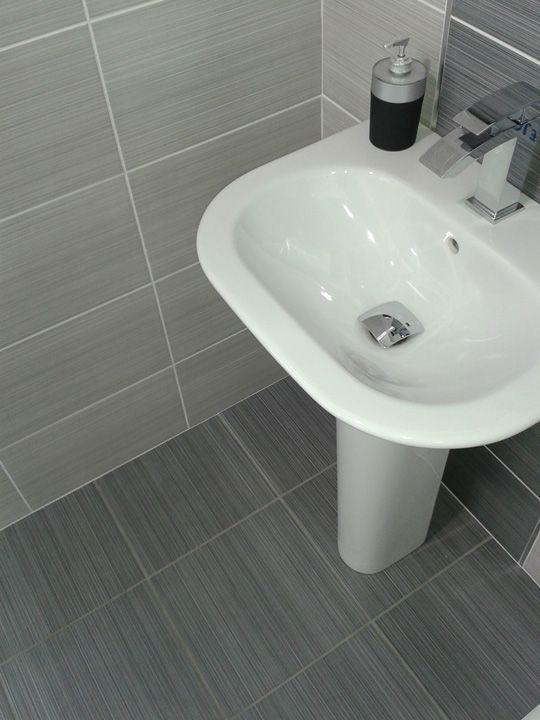 Brilliant Cream Bathroom Boasts Cream Washstand Topped With Stark White