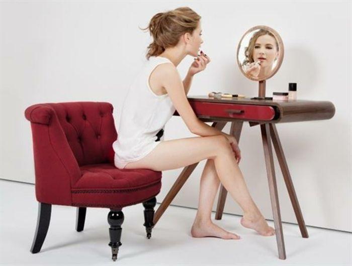 schminktisch mit spiegel elegantes design