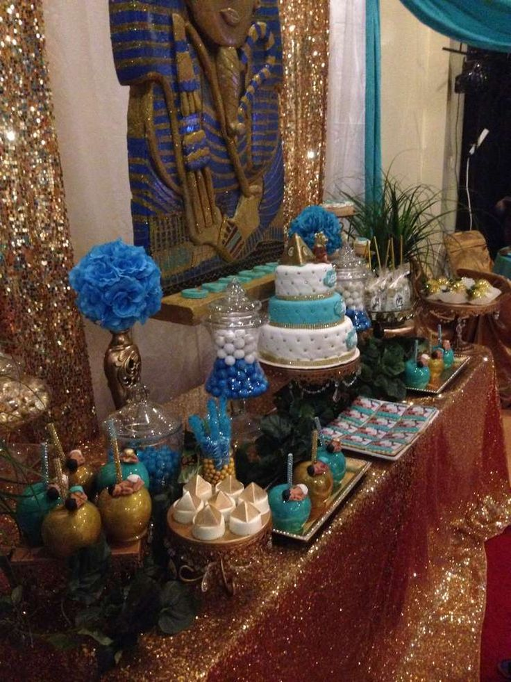 Egyptian  Baby Shower Party Ideas | Photo 17 of 22