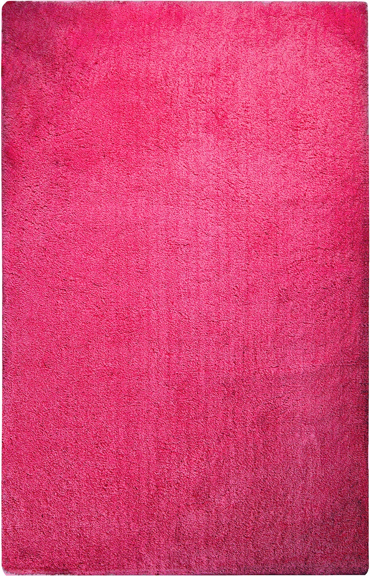 Heaven Hot Pink Modern Shag Rug Pops Of Pink Pinterest