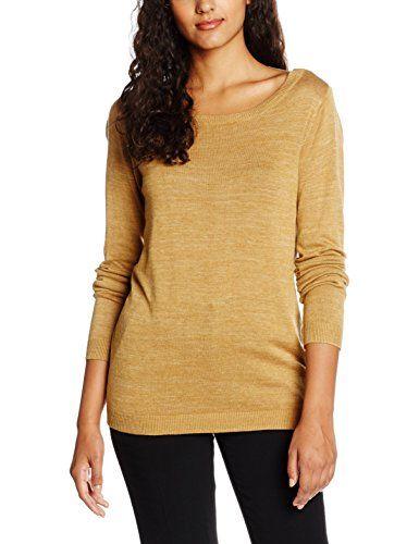 #VILA #CLOTHES #Damen #Pullover #Vilesly #L/S #Knit #Top #TB, #Gelb #(Wood #Thrush #Aop:Wood #Thrush #Melange), #34 #(Herstellergröße: #XS) VILA CLOTHES Damen Pullover Vilesly L/S Knit Top TB, Gelb (Wood Thrush Aop:Wood Thrush Melange), 34 (Herstellergröße: XS), , , , , ,