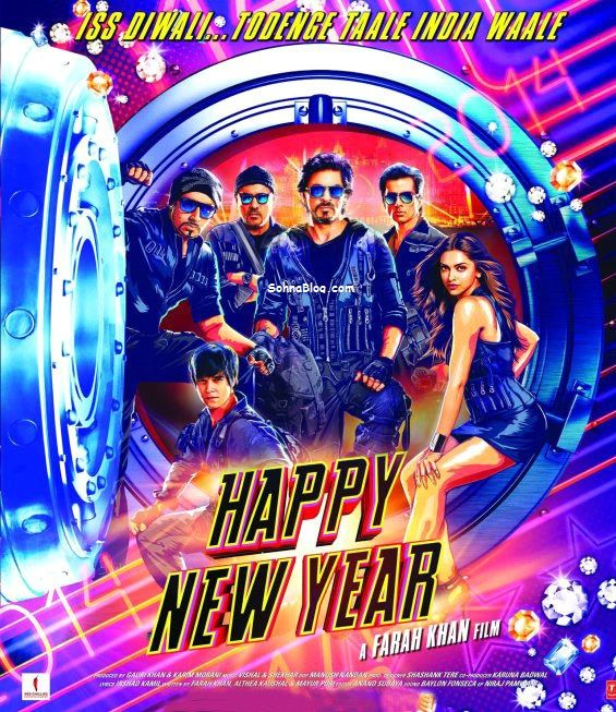 The Upcoming movie has been Happy New Year new First Look poster is release today.
