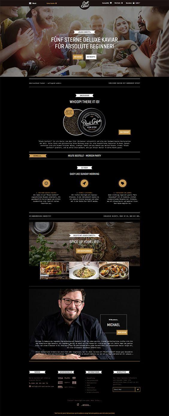 #ShopwareDesign #ShopwareTheme #ShopwareShop #eCommerce #eCommerceSoftware #eCommerceplatform #Onlineshop #blacktemplate #craft #caviar #monobrand