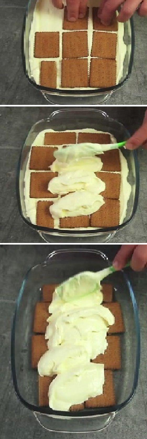 ¡Este postre es tan sabroso como el famoso tiramisú, pero mucho más barato y fácil de preparar! #receta #recipe #casero #torta #tartas #pastel #nestlecocina #bizcocho #bizcochuelo #tasty #cocina #chocolate #queso #tiramisu Si te gusta dinos HOLA y dale a Me Gusta MIREN …