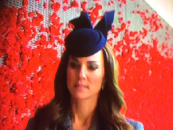 Duchess on Anzac Day