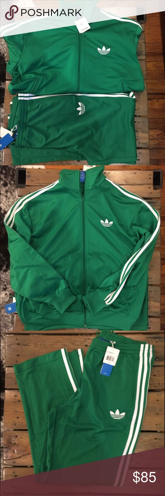 Adidas sweatsuit Brand new Adidas 2 piece sweatsuit. Drawstring and elastic waist. Adicolor collection. Adidas Other