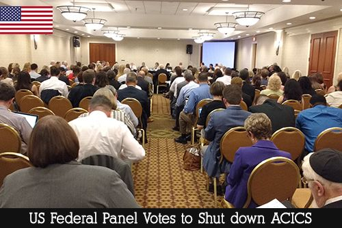 US Federal Panel Votes to Shut down ACICS