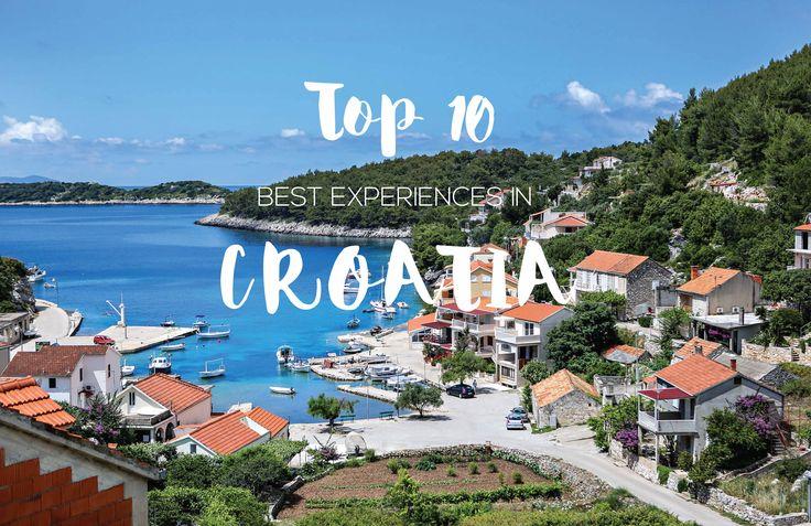 Tope 10 best experiences in Croatia