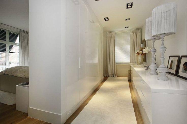 Luxe woondecoratie in garderobekamer