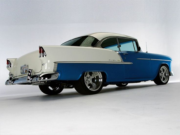 1955 Chevrolet Bel Air Right Rear View Photo 9
