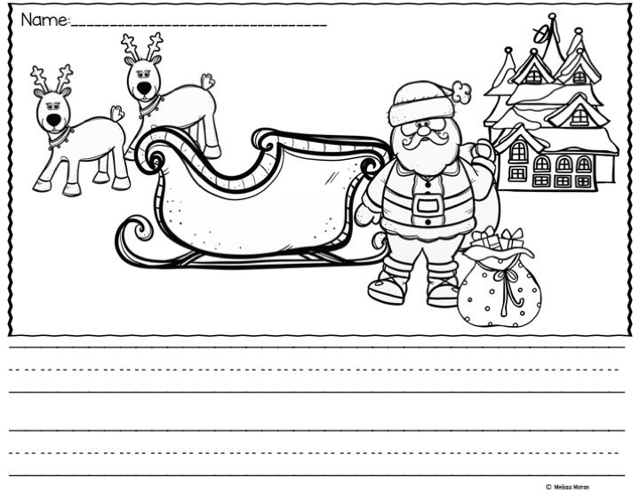 """FREEBIE! Picture Christmas writing prompts are perfect for beginning writers or those struggling with writing.  Includes labels to help support students so they can focus on writing rather than """"how do I spell...."""" as well as unlabeled versions"""