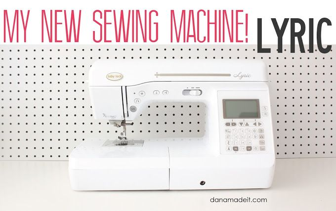 my new Sewing Machine!…and how to pick your own   MADE