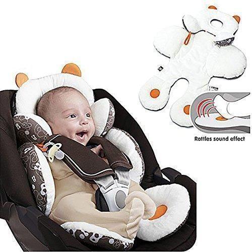 Ofertas de Freesoo Cojín reductor para sillas de bebé (0 - 12 meses) Suave Algodón Almohadilla Estera Cochecito Bebé Asiento de Coche si