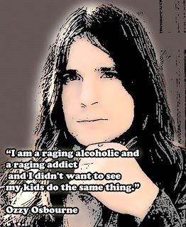 ozzy osbourne young | Ozzy Osbourne Quote