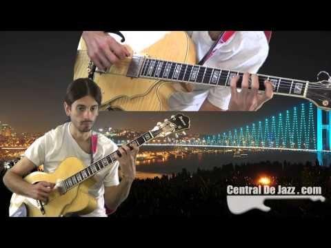 Vídeo de improvisación de guitarra jazz sobre el estándar Body and Soul , una balada preciosa.  http://youtu.be/R1c8mY_lPw0