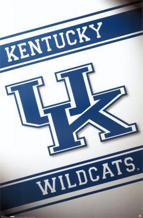 University of Kentucky Wildcats iPhone Wallpaper with logo