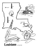 Great State Fact/Map Coloring Pages for State of the Week