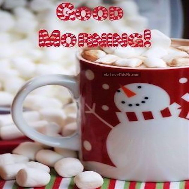 Cute Winter Good Morning Image Quote