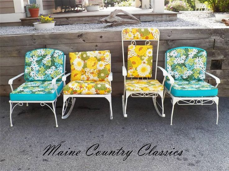 vintage patio chairs ebay metal outdoor furniture lawn