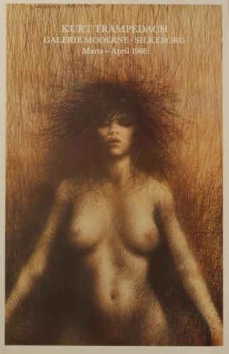 Kvinden (The Woman) by danish painter Kurt Trampedach.