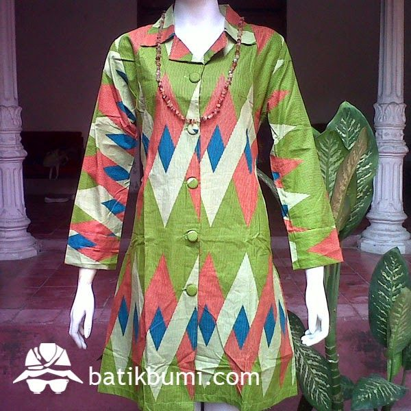 Dress Katun Danliris Motif Rang Rang DB 022 | jual batik murah, Batik modern, batik sarimbit, baju batik