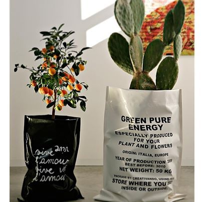 Foto: Pika #coprivaso o #contenitori in #PVC per #piante e #fiori, per uso #interno o #esterno by #creativando #potcover #designspeakingstoreverona #verona #italy #design #indoor #autdoor #flower #plants #cactus #home #garden #impact #vsco #vscocam #italiandesign #follow