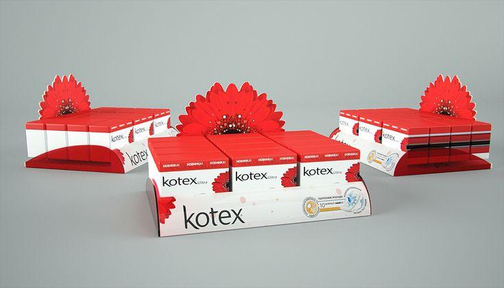 Design pos Kotex