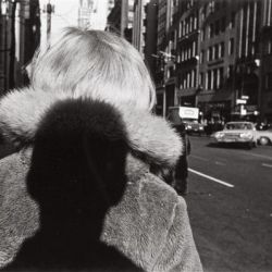 Lee Friedlander - Self portrait New York City 1966