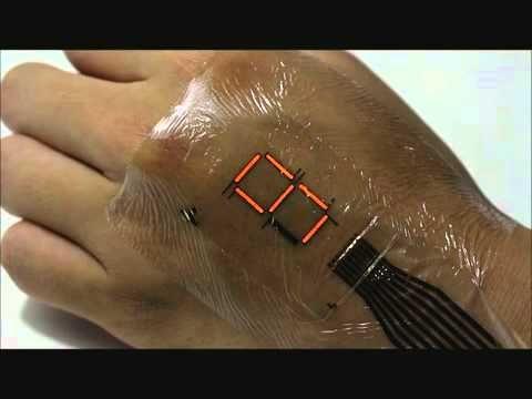 e-peau: des scientifiques japonais créent une peau artificielle qui peut surveiller les niveaux d'oxygène de l'organisme | Intelligence Artificielle et Transhumanisme