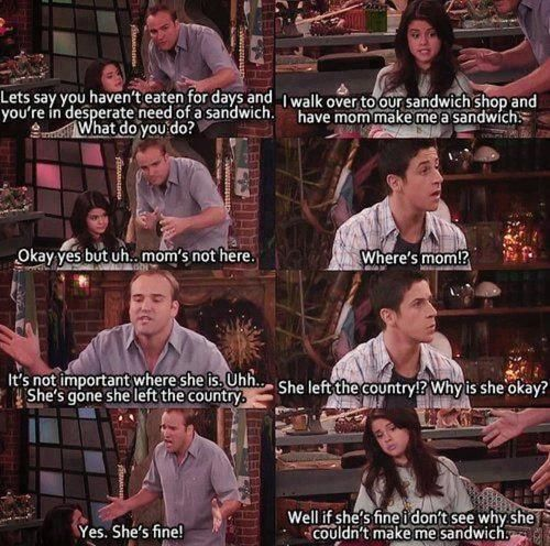 Wizards of Waverly Place. Still remember that episode.