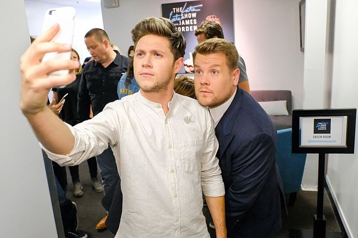 Niall on The Late Late Show with James Corden