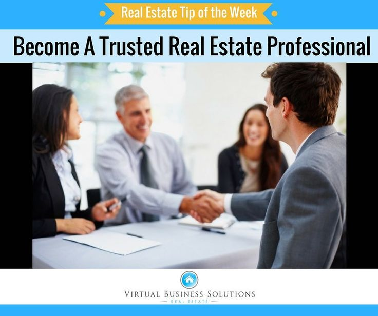 Become A Trusted Real Estate Professional  The success of any real estate business depends primarily on the trust and relationships it can build with its customers. Unfortunately this is not always easy as too many people generally have a negative opinion of real estate agents. It is estimated that roughly 67.5% of Americans dont trust real estate agents with the highest levels of distrust reported among people under the age of 44 according to a Choice Home Warranty survey. The results are…