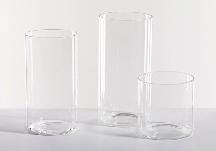 An essential for any kitchen: well-proportioned basic drinking glasses. Here's what we've got on our shelves.