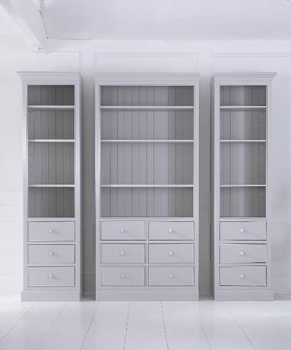 modulares bcherregal landhausstil massiv regale landhaus mbel bei mbelhaus hamburg - Bucherregal Wand Als Mobeldekoration Und Funktionell
