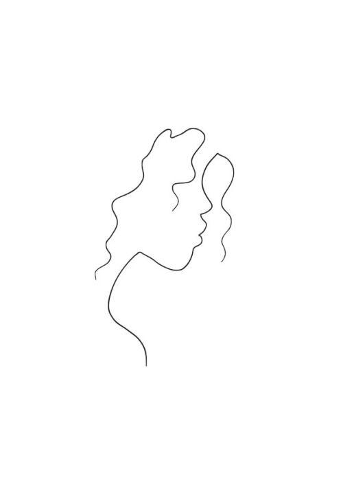 chris tornley raid71 arte minimalista ilustração mulheres linha