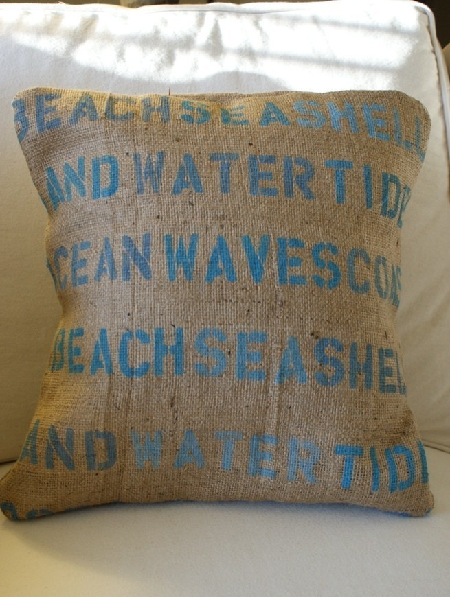 Beach Cottage Pillow Cover In Country Living S 2010 House