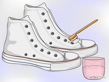 how to wash white canvas keds