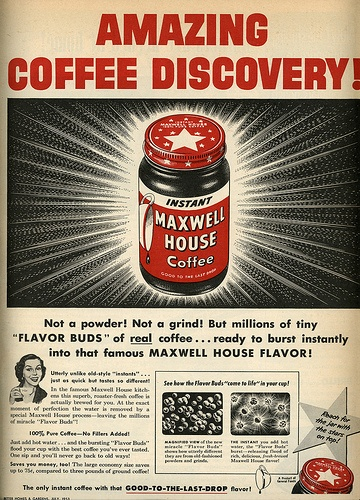 1953 Maxwell House Coffee ad