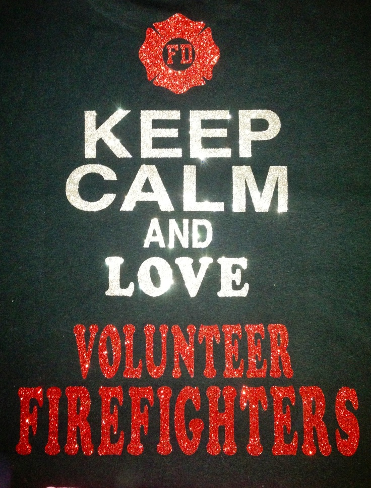 Volunteer firefighters we do it cause we care