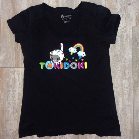 Tokidoki carina cactus Friends Tee Shirt Top gray Tokidoki Small carina cactus Friends Tee Shirt Top gray   PreOwned Size Small  Cap sleeves   17.25 bust unstreached tokidoki Tops Tees - Short Sleeve