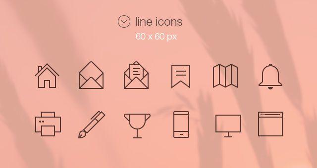 Freebie - Tab Bar Icons iOS 7 Vol3