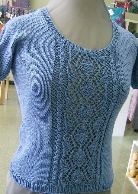 Tee Top Knitting Patterns