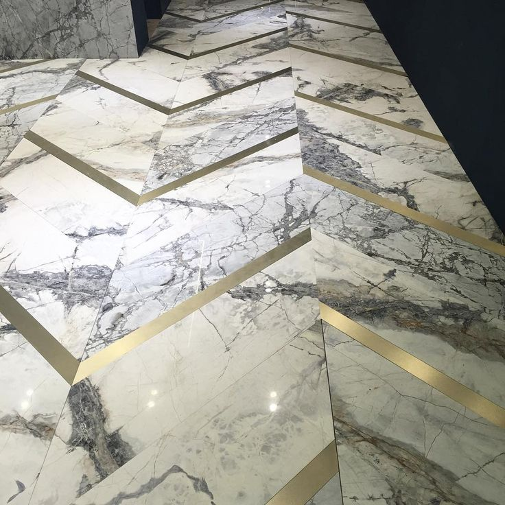 Marble flooring from Antolini at 100% Design. The ultimate definition of luxury  via IG: @lgidesigns