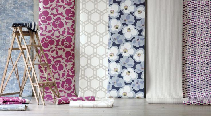 Makela Wallcoverings by Villa Nova – James Dunlop Textiles | Upholstery, Drapery & Wallpaper fabrics