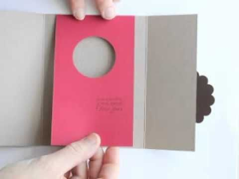Shutter Peek-a-boo card - YouTube