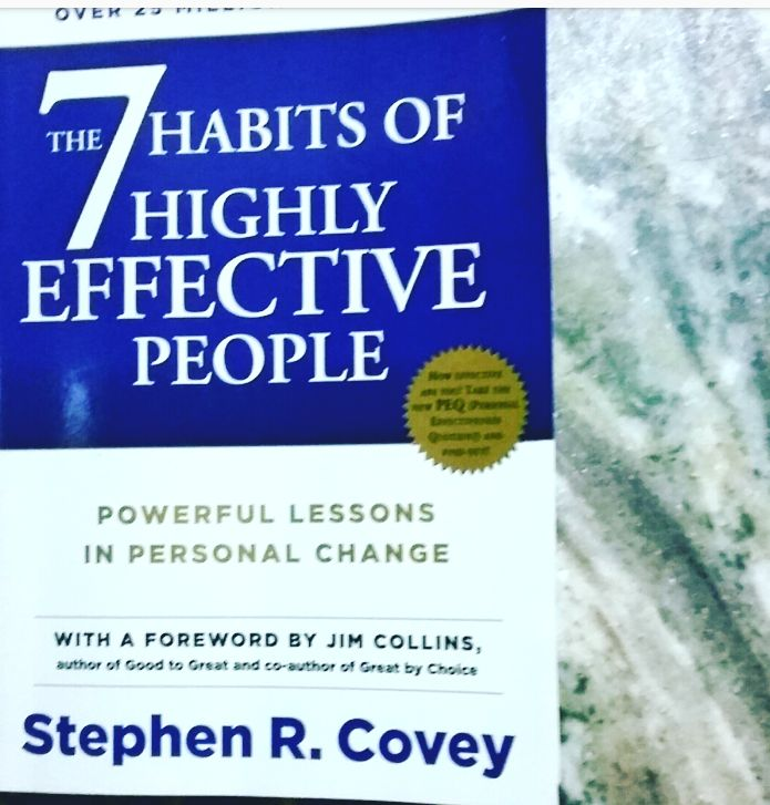 Have you read The  7 Habits of Highly Effective People ? This book by Stephen .R.Covey is a must read . If you want your life to follow your dreams,read the book! It's the passport to success . Growing up everyone has   dreams.On the way to becoming adults we forget our dreams.But what if …
