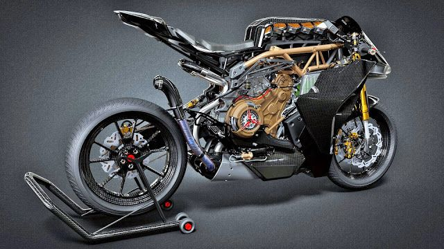 Ottonero Cafe Racer: Alfa Romeo - Rapier R + 1299 Strada Corridore