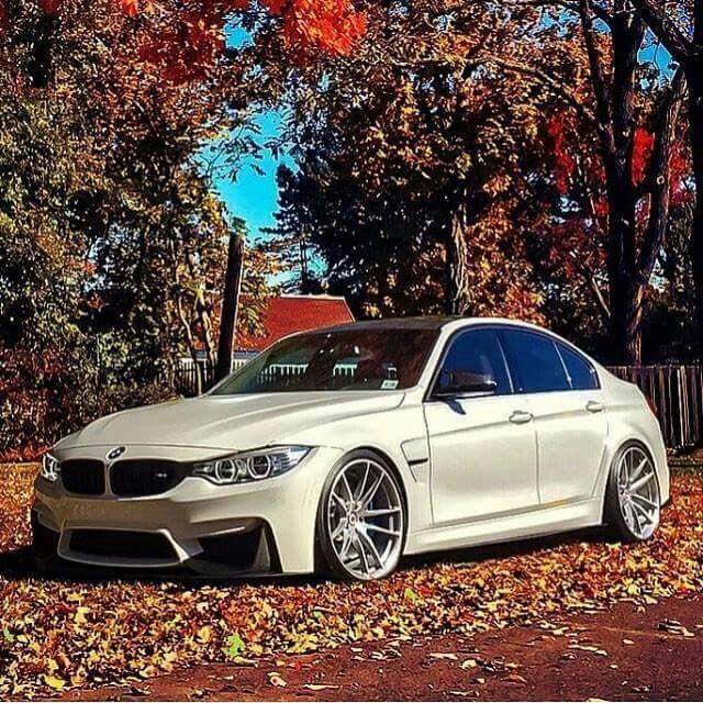BMW F80 M3 white fall
